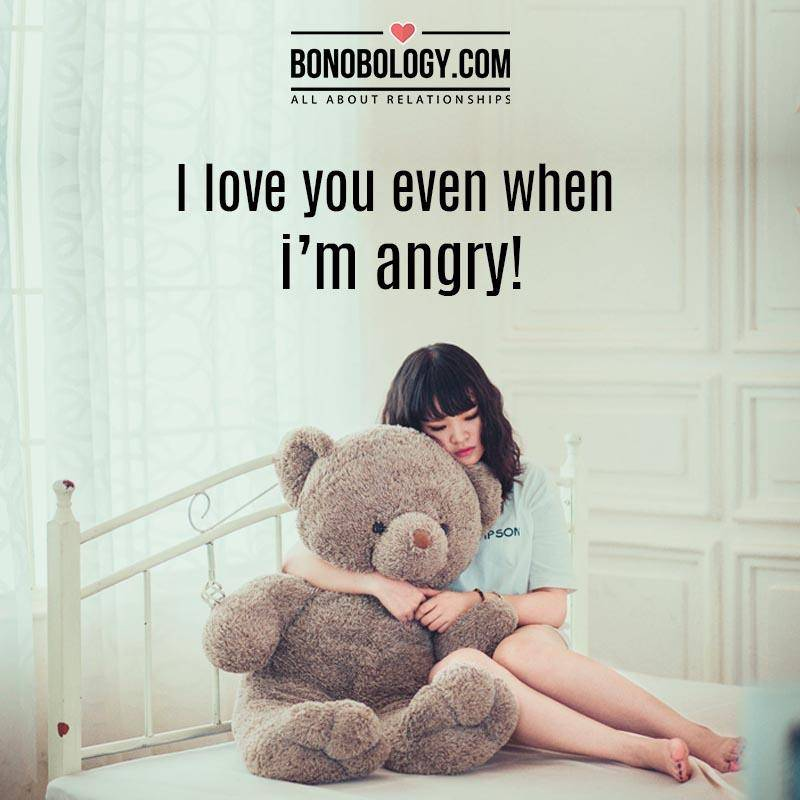 Anger is an emotion