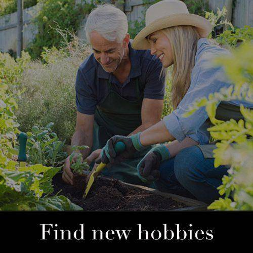 Find new hobbies