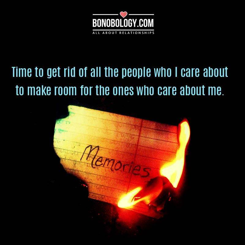 Time for the people who care about me