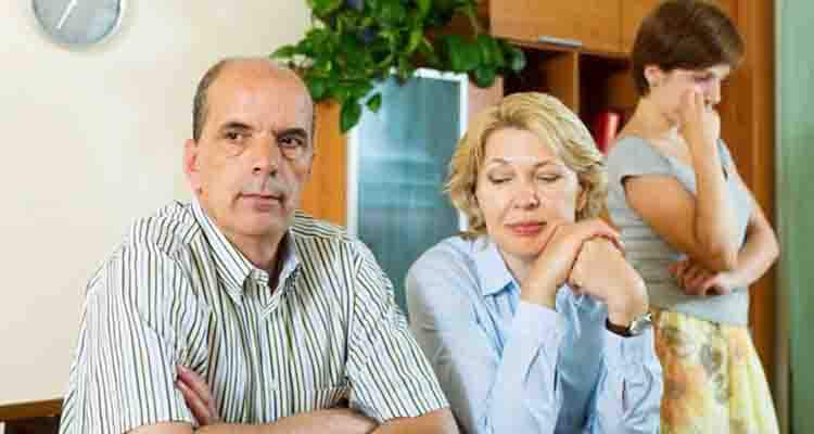 angry parents in laws