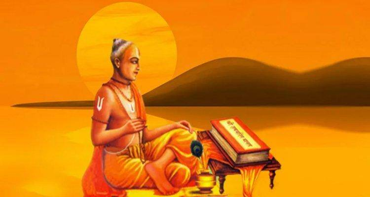 Tulsidas became a poet and scholar only after he got a jolt from his wife