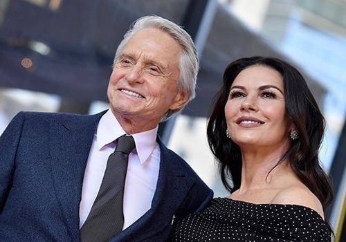 Catherine Zeta Jones and Michael Douglas are among couples with huge age difference