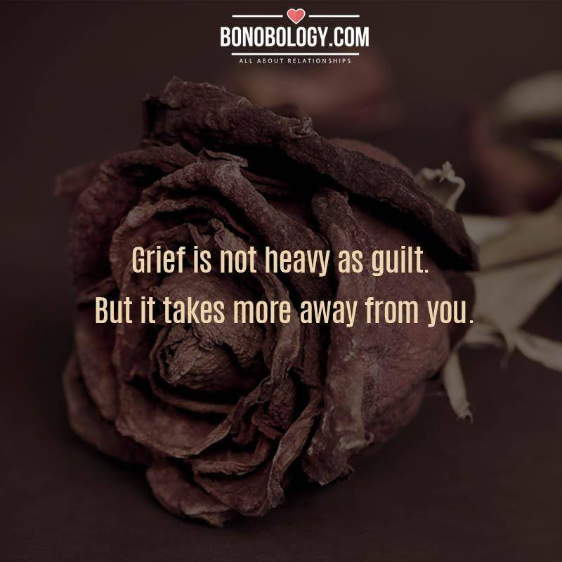 Grief is not heavy
