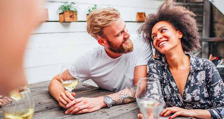 We can not express our feelings freely while dating an introvert man or women