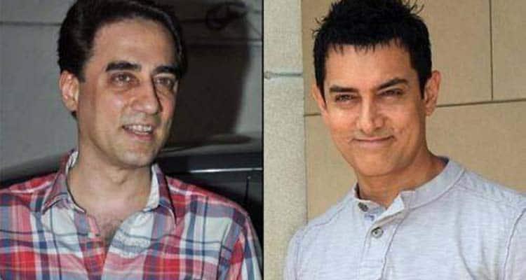 Aamir Khan and his brother Faisal