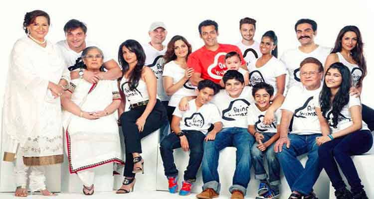 Helen with the Khan family