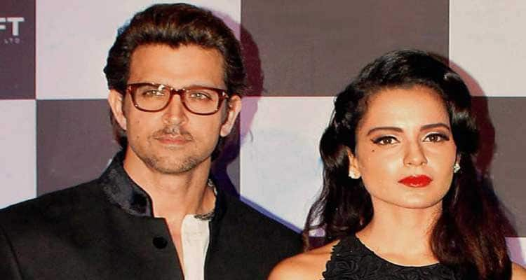Kangana and Hrithik in krishh and their affairs