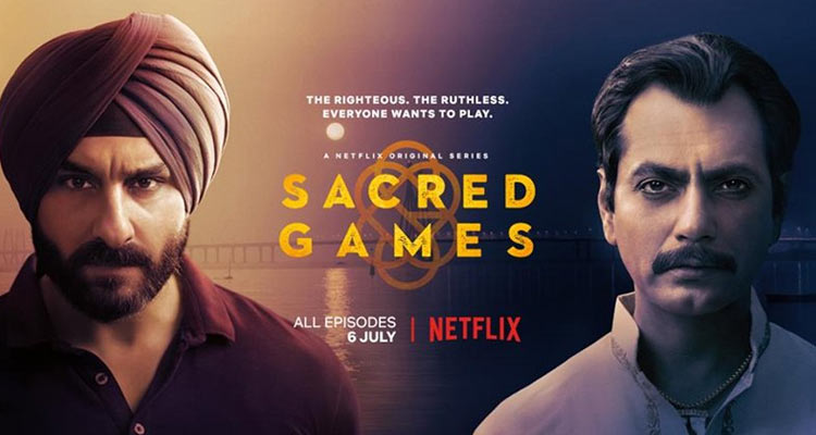 He surprised everyone by taking on a huge risk and agreed to do a part in the first made in India Netflix Original series Sacred Games.