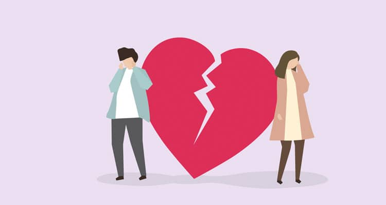 Breakup is the worst part in a relationship