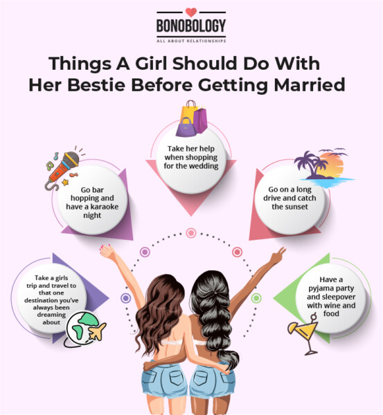 things to do before marriage for bride