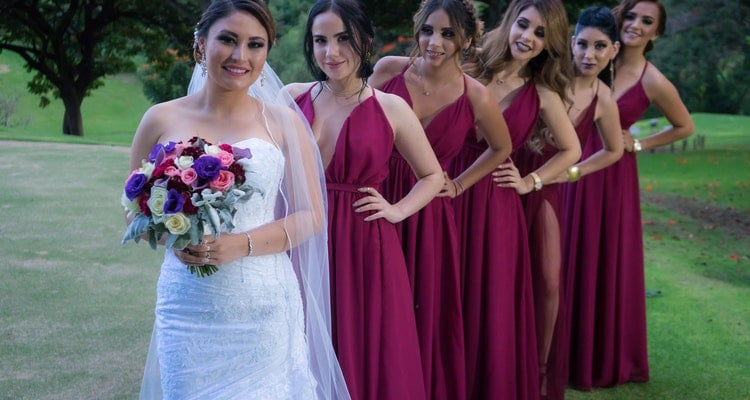 bridesmaids for the bride