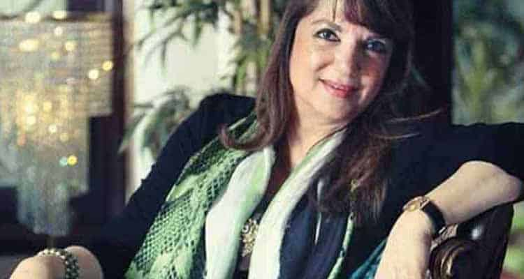 Her husband Sanjay Khan was the man about town
