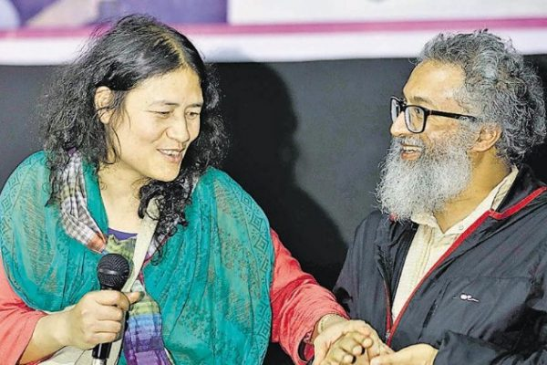 Irom Sharmila's babies were born on May 12, 2019. Irom Sharmila married Desmond Coutinho in Kodaikanal in 2017
