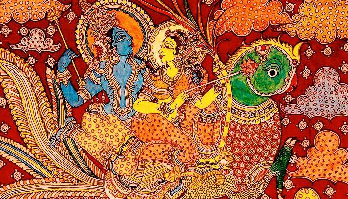 Kamadeva personifies love,lust and sensuality