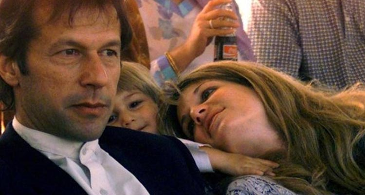 Imran met Jemima Goldsmith and they were an instant hit.