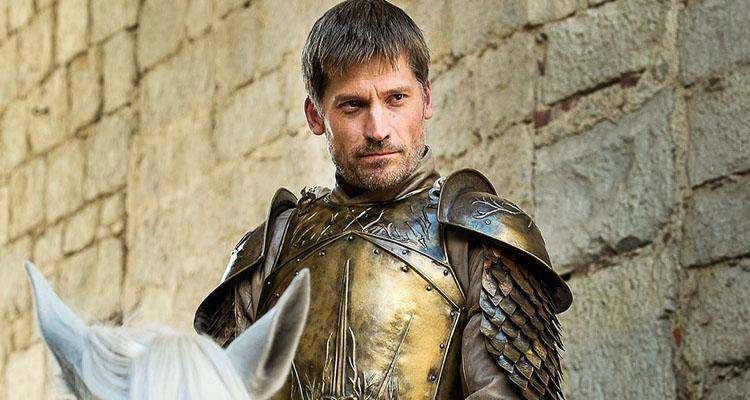 Jaime Lannister and Cersei in Game of Thrones. They die together in the last episode
