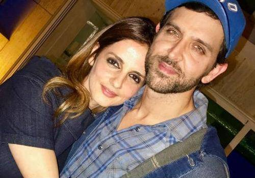 Super 30 hero Hrithik Roshan with his ex-wife