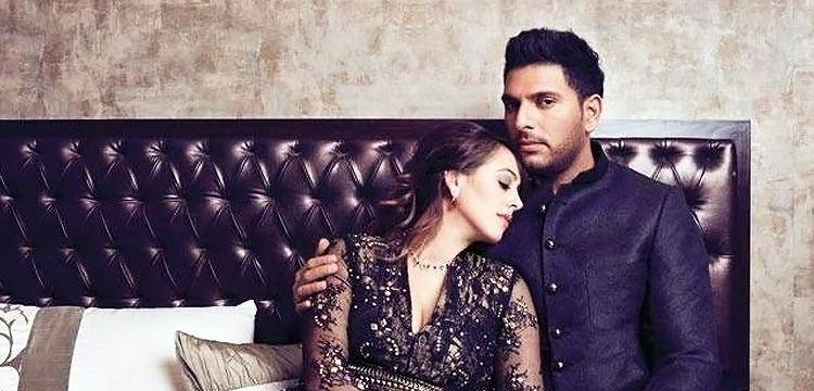 Yuvraj Singh and Hazel Keech have been each other's support.