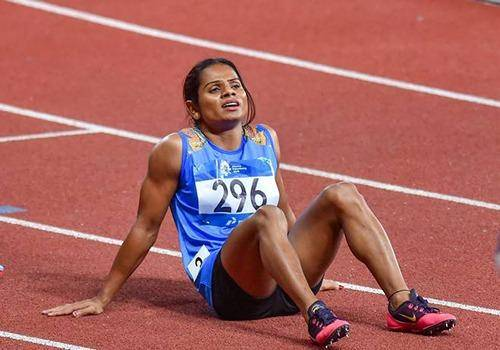 Asian Games 2018: Dutee Chand wins silver in women's 200m. She has declared herself as gay recently.