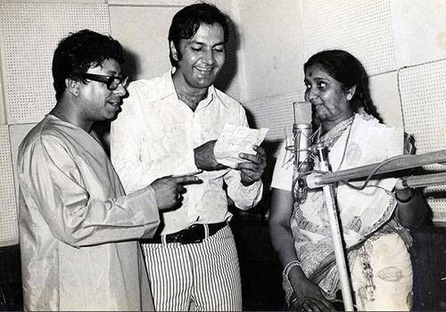RD Burman is a musical genius from India