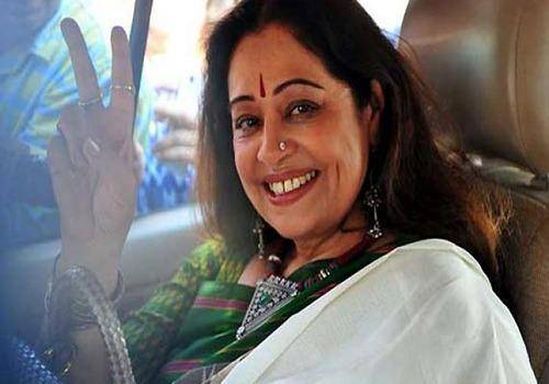 Kirron kher after her election win