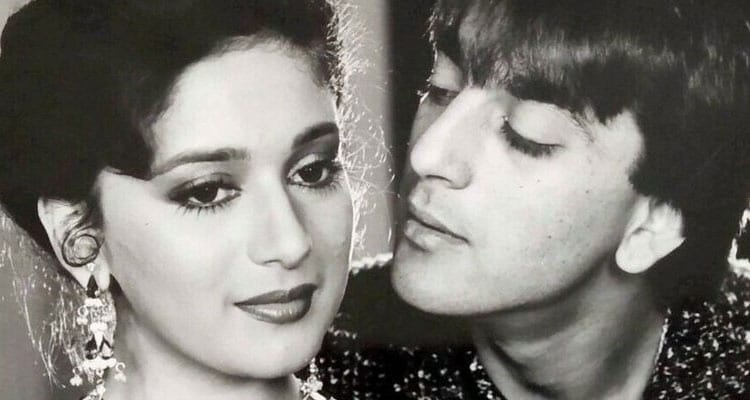 Affair with Madhuri Dixit and reaction of his wife