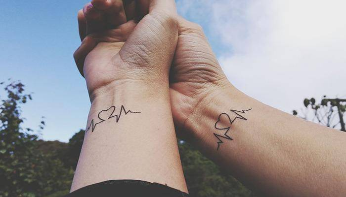 Couple Tattoos are the sign of love