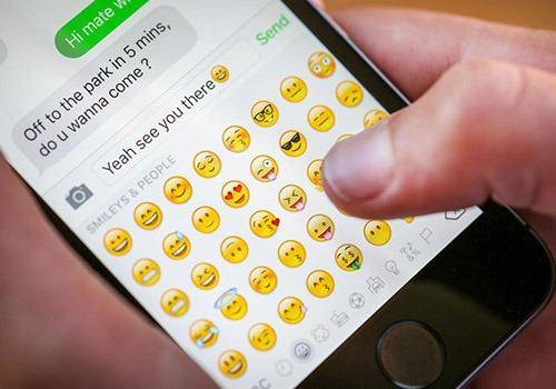 now people use emojis as an integral part of language and send emojis to show their emotions