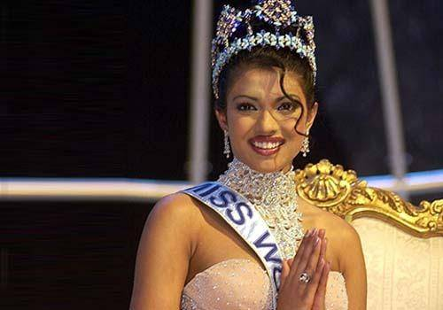 Priyanka Chopra in 2000s got miss world crown