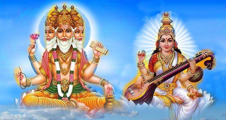 Brahma and Saraswati are a Cosmic Couple but truth remains it's also a father-daughter relationship