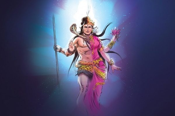 Shiva and Parvati are the the gods of desire and creation