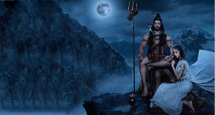 Shiva and Sati are said to be god of love