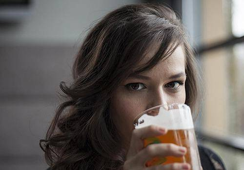 For some people beer helps to reduce headache