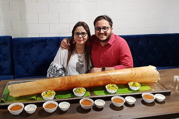 This couple food bloggers have different tastes but they love food