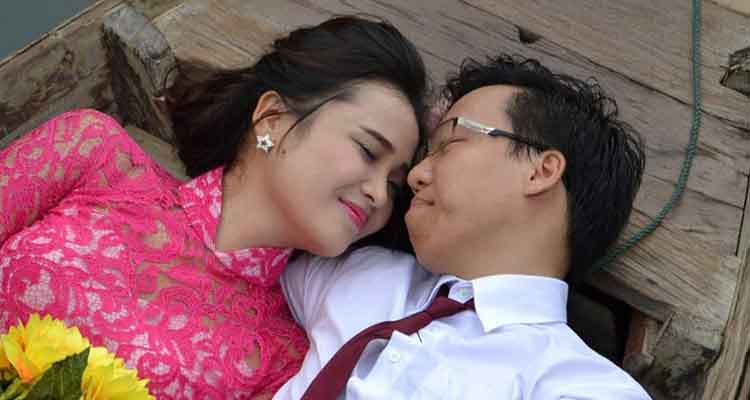 Couple together
