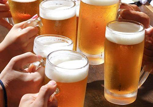 Some people try to take advantage in clubs thinking beer gives them right to judge people
