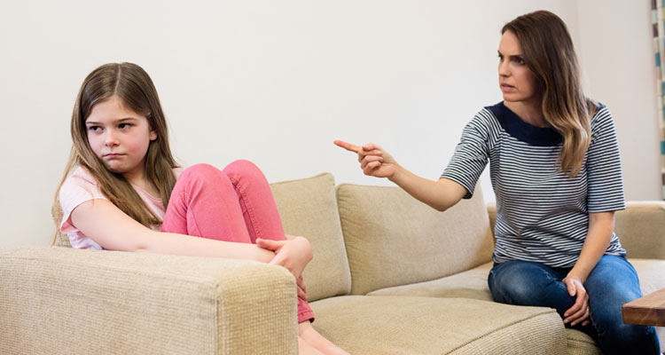 never accuse each other in front of the kids or speak to each other in an aggressive or disrespectful manner.