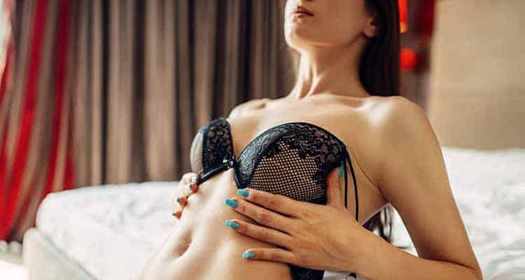 Her sex life began on the net