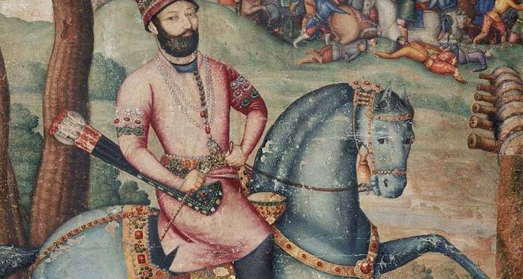 Nader Shah was called as the king of Persia