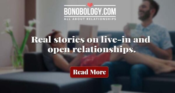 live in and open relationships