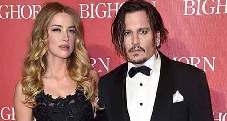 Johnny Depp and Amber Herd