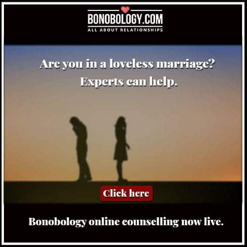 Are you in a loveless marriage?