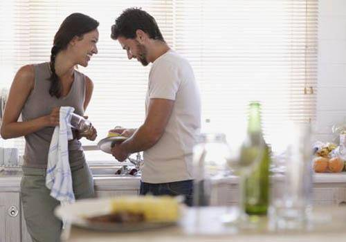 Do household chores together