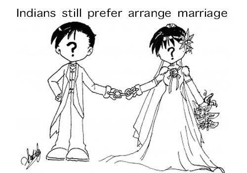 Indians arrange marriage