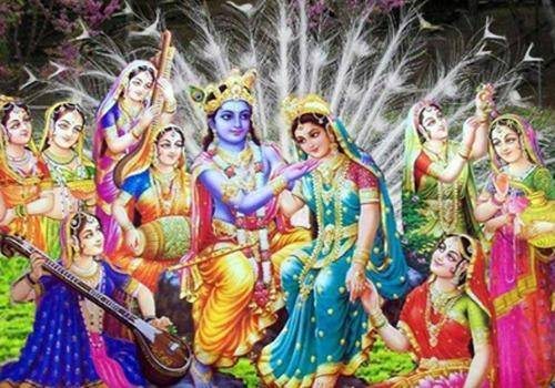 The Krishna and Rukmini love story talk about her boldness and devotion to the Lord.