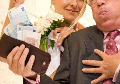 Bride's parents paying for the wedding