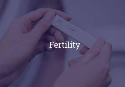 Reproductive health and fertility counselling