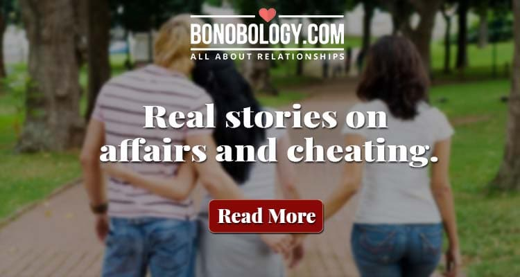 What men say when they get caught cheating