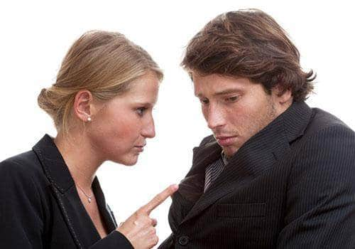 Manipulative wife has didactic personality