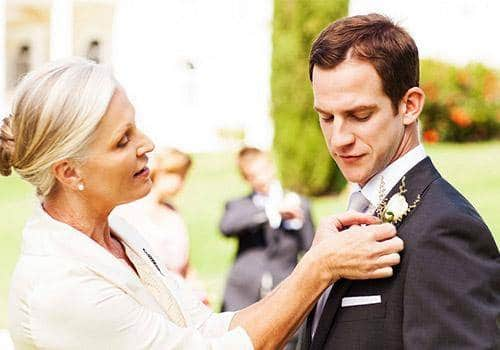 Accept husband's relationship with his mother